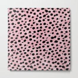 Animal Print Cheetah Print Spots 328 Metal Print