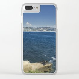 Kayakers in the Cove Clear iPhone Case