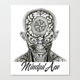 Mindful Ape Canvas Print