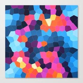 Geometric Brights Canvas Print