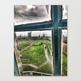 View from a Windmill Canvas Print