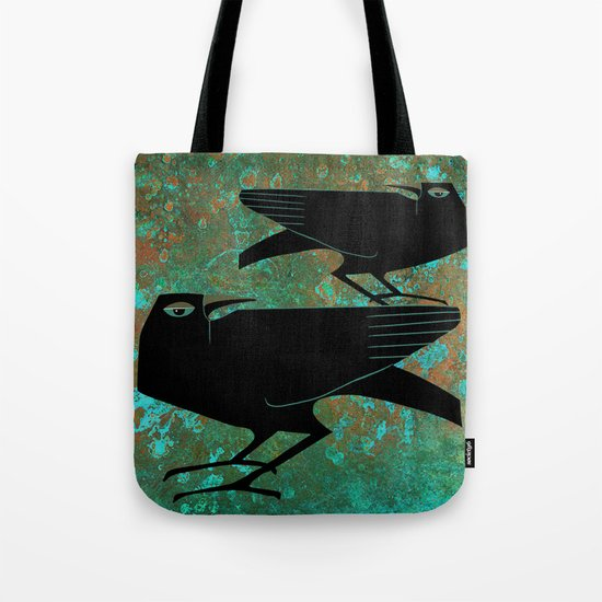 Odin's Ravens Huginn and Muninn by sunnybunny