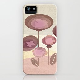Flowers en Rose iPhone Case