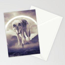 aegis II | wolf Stationery Cards