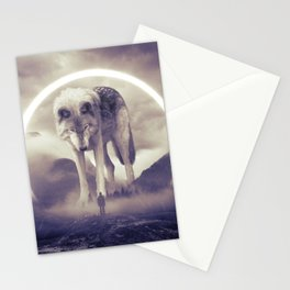 aegis II | wolf Stationery Cards