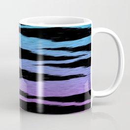 Blue/Pink Gradient Tiger Skin Coffee Mug