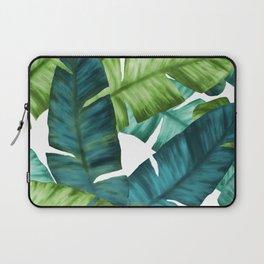 Tropical Banana Leaves Unique Pattern Laptop Sleeve