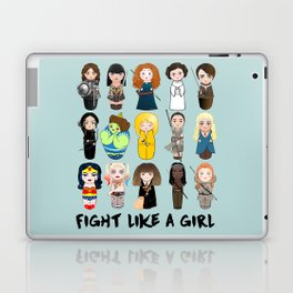 Kokeshis Fight like a girl Laptop & iPad Skin