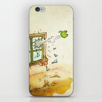 apple iPhone & iPod Skins featuring Apple! by Pepan