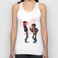punk rock Tank Tops featuring Punk Rock Dating by schmemy