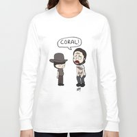 coral Long Sleeve T-shirts featuring Coral by kaylieghkartoons