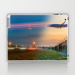 Time Traveling Machine Laptop & iPad Skin