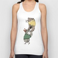 grease Tank Tops featuring Grease chicks by Ilse Busschers