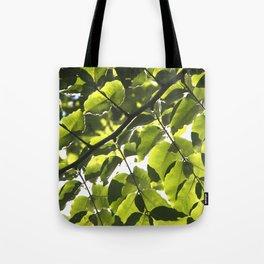 Leaves IV Tote Bag