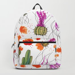Cactus Bloom Backpack