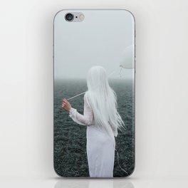 All white iPhone Skin
