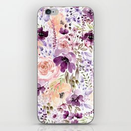 Floral Chaos iPhone Skin