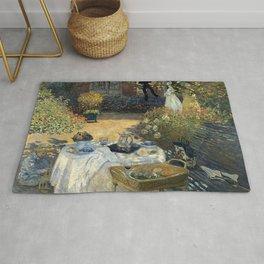 Claude Monet - The luncheon Rug