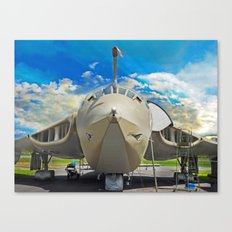 Handley-Page Victor K2 Lusty Lindy Canvas Print