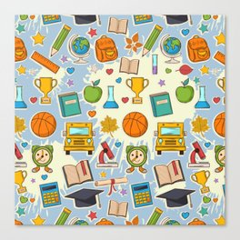 School Cool Canvas Print