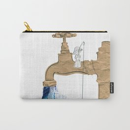 Paper Faucet Carry-All Pouch