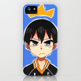 Kageyama iPhone Case