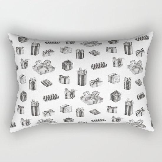 Birthday Presents by Chrissy Curtin Rectangular Pillow