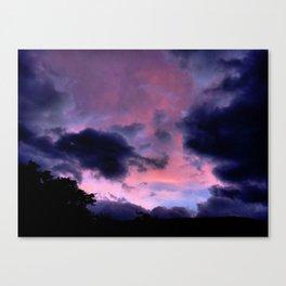 Cloud Invasion Canvas Print