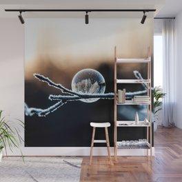 Wintry World in Frozen Bubble Wall Mural