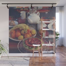 Food photography, fruit still life, kitchen wall art, bed & breakfast, food porn, fine art Wall Mural