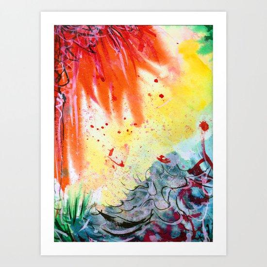 Hypergraff Art Print