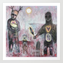 Ghosts of the Forest Art Print