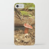 mushroom iPhone & iPod Cases featuring Mushroom by JCalls Photography