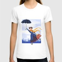 mary poppins T-shirts featuring Mary Poppins by giovanamedeiros