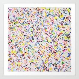Sprinkles on Vanila Art Print