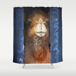 Humpdy Shower Curtain