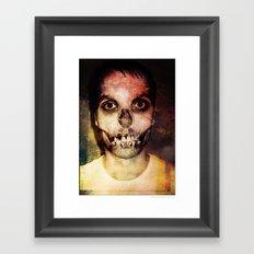 OVERworked Framed Art Print
