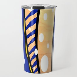 Bubbles &Stripes Travel Mug