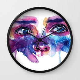 Tears Wall Clock