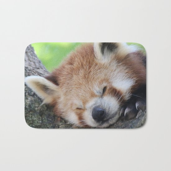 Red_Panda_20150705_by_JAMFoto Bath Mat