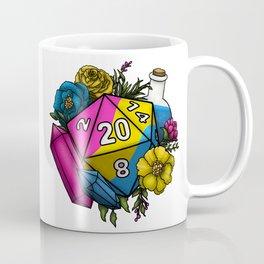 Pride Pansexual D20 Tabletop RPG Gaming Dice Coffee Mug