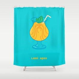 Lassi Apso Shower Curtain