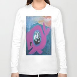 whale of a tale Long Sleeve T-shirt