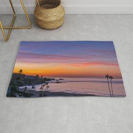 Dawn Over Corona Del Mar Rug