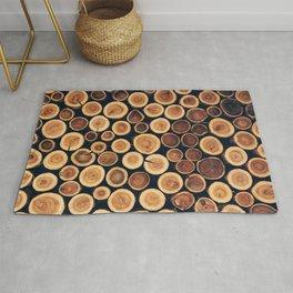 Wooden Logs Phone Case Rug