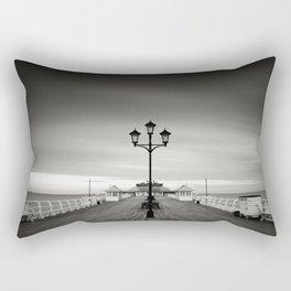 Cromer Pier - Winters Day Rectangular Pillow