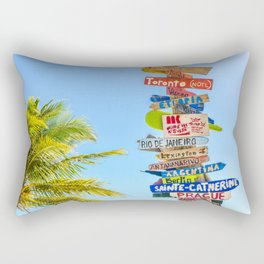 travel #society6 #decor #buyart #homedecor Rectangular Pillow