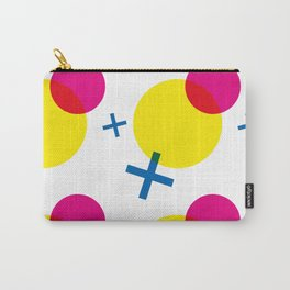 Circles & Crosses - UI inspired pattern Carry-All Pouch