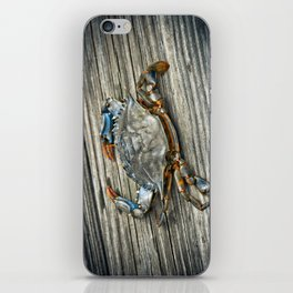 """Busted Peeler"" - Maryland Blue Crab iPhone Skin"