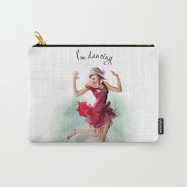 dancing ballerina3 Carry-All Pouch